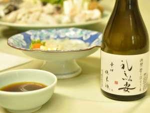 【当館限定!】知多の蔵元×レシーアのコラボ★日本酒を一人様に一本サービス!知多ほろ酔いプラン♪
